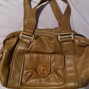 Medium sized tan Michael kors bag